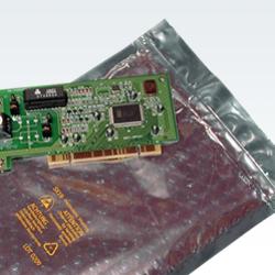 Metallisierte Luftpolsterbeutel mit Zipp