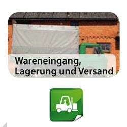 Wareneingang, Lagerung, Versand