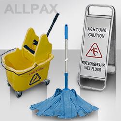 Zubehör für das Reinigungspersonal
