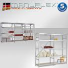 Fachboden-Steckregale Megaflex
