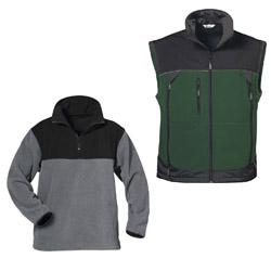 Softshell- und Fleecebekleidung