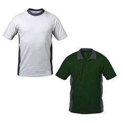 T-Shirts und Polo-Shirts