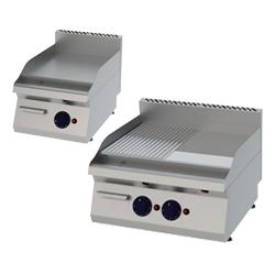 Gastronomie Grillplatten Gas