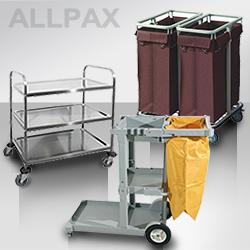 Reinigungswagen, Wäsche- & Pflegewagen