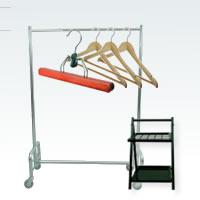Garderobenwagen, Kleiderbügel, Kleider- & Schirmständer