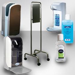 Waschraum & Desinfektion